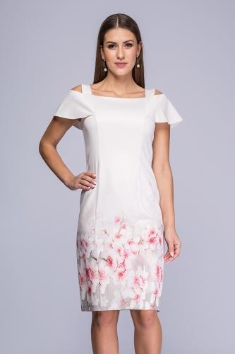 dc00e5e4c9 Sukienka pudrowy róż Rafaella