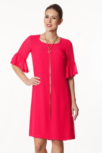 9da6052f71 Sukienka amarant żorżeta Wiktoria ...