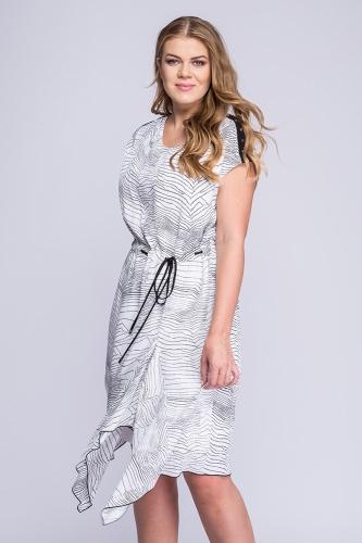 5617b43fdf Sukienka biało-czarne kropeczki Alexa ...