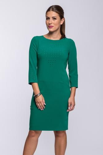 23a76aa8c4 Suknia morska zieleń Olimpia