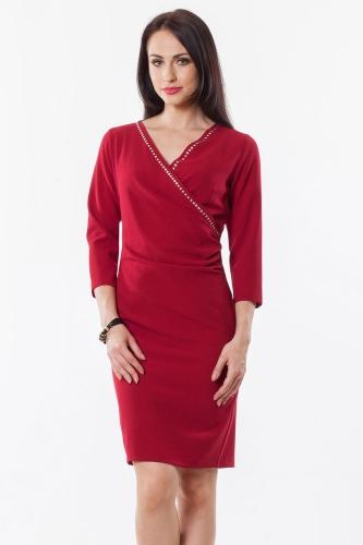 8c6b4d49a3 Sukienka czerwona Klarysa